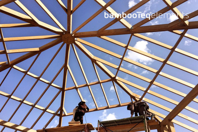 BambooTeq bamboe huis