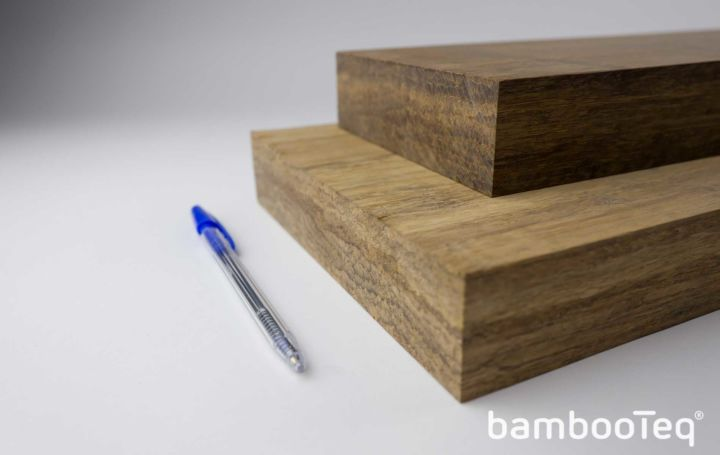 Multilayer bamboe plank mm u bambooteq